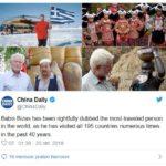 Deze Griekse man (64) bezocht álle landen ter wereld twee keer (en zo deed hij dat)